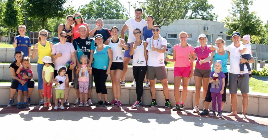 Fit Zálesie - vedenie skupinových tréningov pre obec