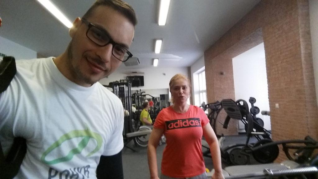 Osobný tréner - vedenie tréningu Zuzany Vačkovej