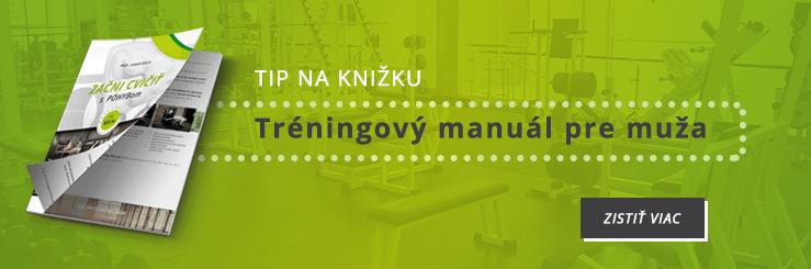 Kompletný tréningový manuál pre mužov začiatočníkov Začni cvičiť s pohybom for men pohyb.sk