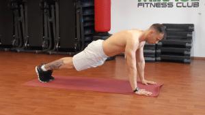 Doska / Plank technika cviku ako cvičiť pohyb.sk