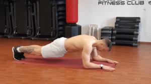 Plank / doska na lakťoch technika cviku ako cvičiť pohyb.sk