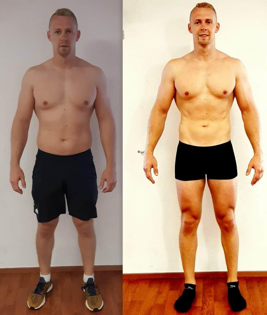 Komplexný program zmeny postavy chudnutie tuku, nárast svalov Pezinok