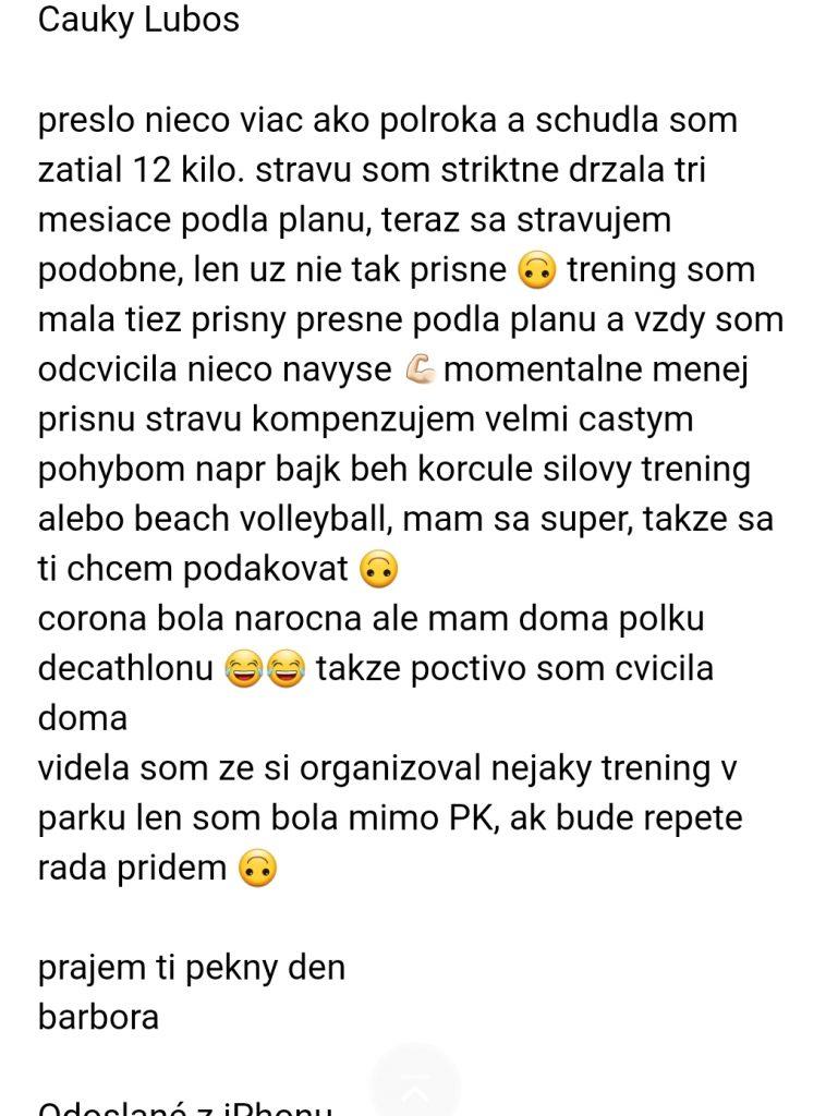 Osobný tréner Pezinok - tréningový a stravovací plán na mieru