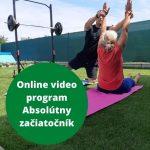 Online video tréningový program na doma Absolútny začiatočník