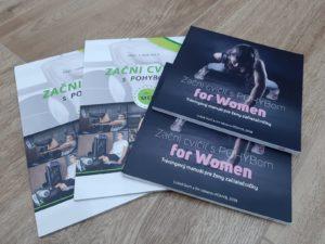 Tréningový manuál Začni cvičiť s POHYBom for Men a Women akciový balík