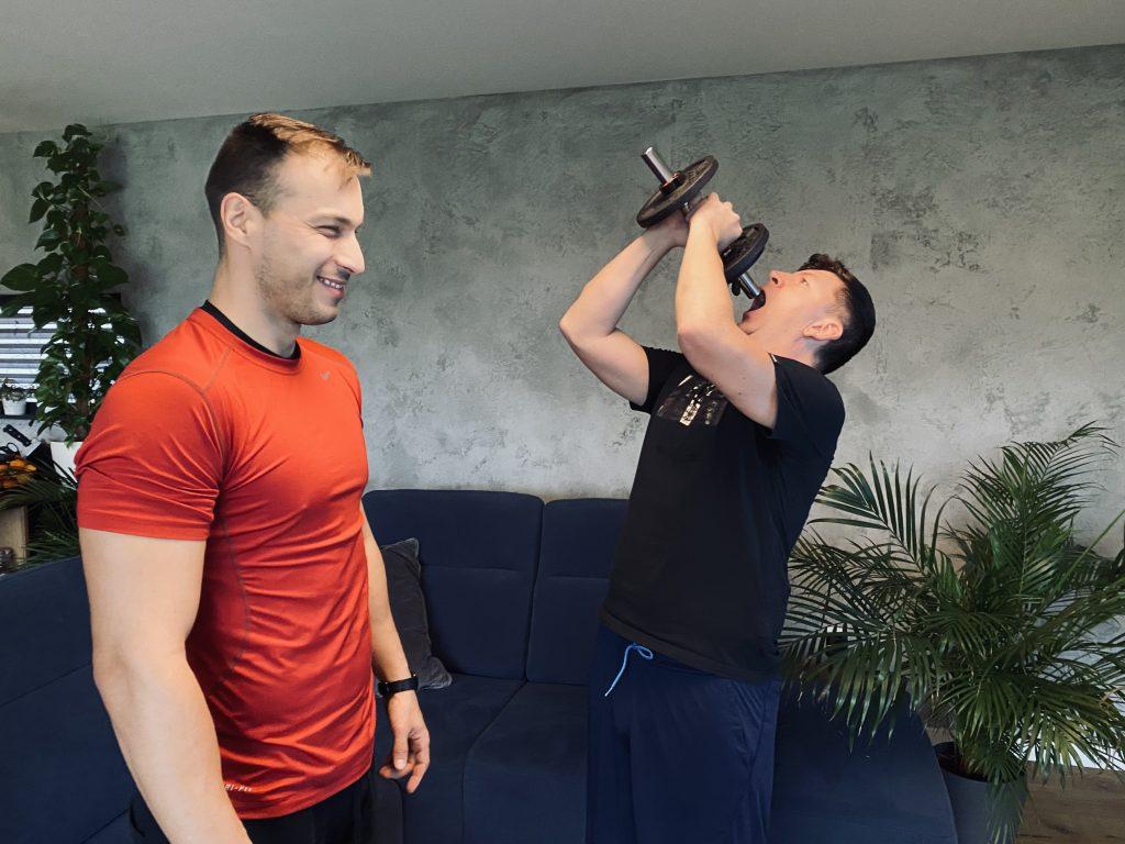 Mobilné fitko a tréning doma s Andrejom Bičanom